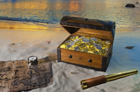 Treasure Chest Standard-Bild - 15077144