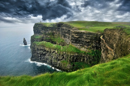 Cliffs of Moher, Irland Standard-Bild - 15077141