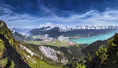 swiss alps: Interlaken, Szwajcaria