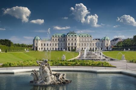 Belvedere Castle in Vienna