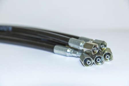 hydraulic hoses 版權商用圖片 - 22627537