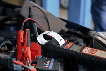 Video investigate. Engine diagnostics. Car repair. Service