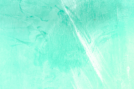 Painted concrete photo texture. Lime wall grunge background. Coating cement surface backdrop with