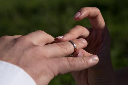 Giving of wedding