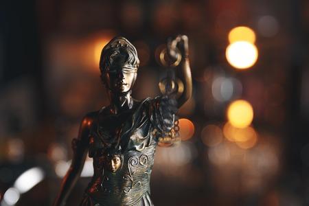 The Statue of Justice symbol, legal law concept Archivio Fotografico