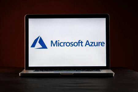 Tula, Russia - FEBRUARY 21, 2019 : logo displayed on a laptop Redakční