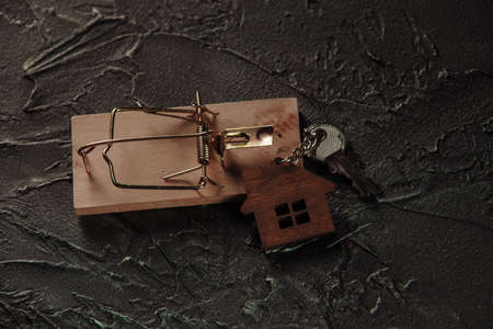 Mousetrap and house keys, Quackery concept