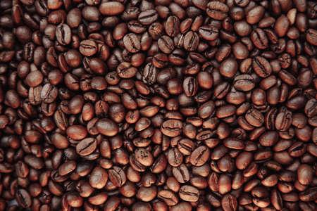Coffee beans background Фото со стока