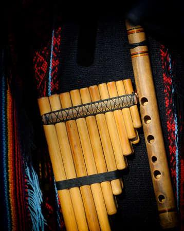 pan flute: Peruvian pan flute or pipe