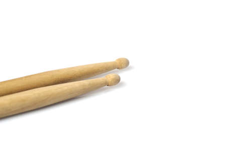 drum sticks: a close-up of wooden percussion drum sticks