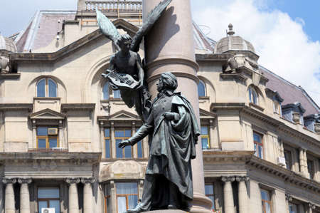 publicist: The monument to Adam Mickiewicz in Lviv