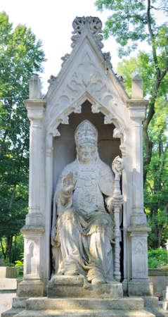 cassock: Ancient Lychakivskyj cemetery view (Lviv City, Ukraine)