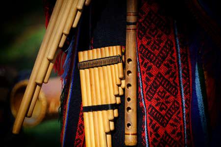Peruvian pan flute or pipe