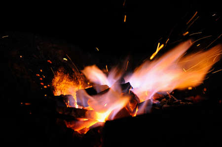 forge: Embers and Flames of a smiths forge