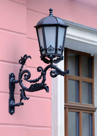 wall lamp: Antique Victorian Outdoor Wall Lamp