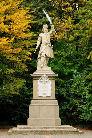 lemberg: Monument to Jan Kilinskii in Lviv (Ukraine)