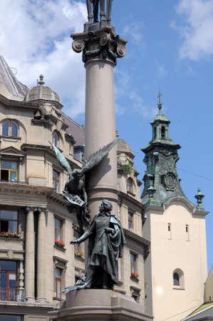 essayist: The monument to Adam Mickiewicz in Lviv