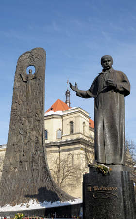lemberg: Monument to Shevchenko in Lviv