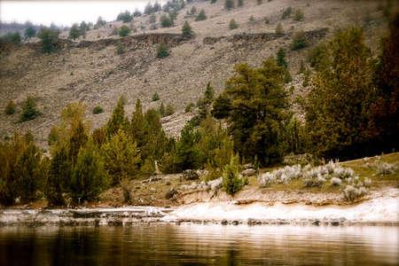 chinook: Lago di Billy Chinook Archivio Fotografico