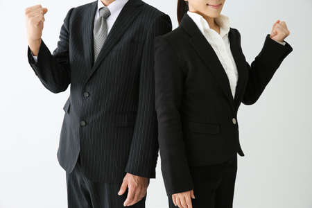 company premises: Men and women in suits to Rome