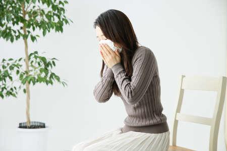 Female sneeze