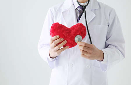 hospital expenses: Red heart and the doctor