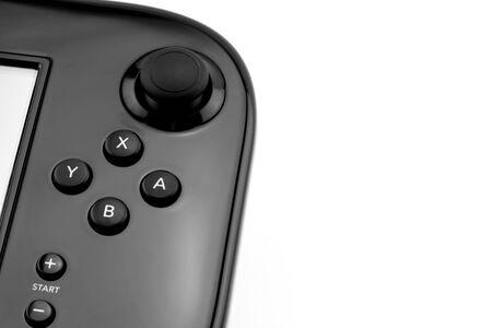 the gamepad: gamepad joystick Stock Photo