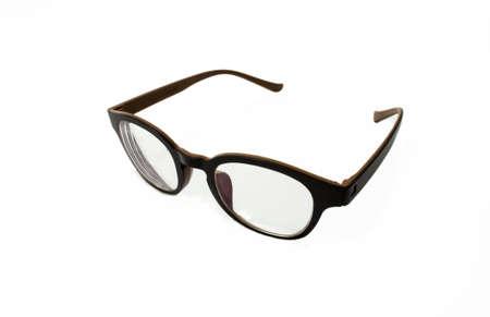 glasses on white blackground  Stock Photo