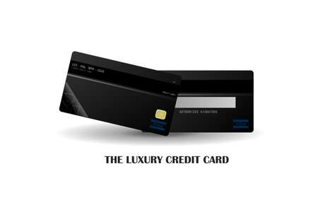 The luxury Credit card Vector