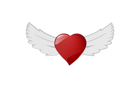 The heart wing file for your valentine or your love