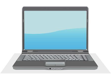 laptop voor uw ontwerp  Vector Illustratie