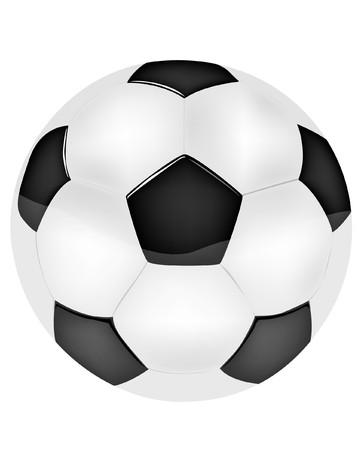 black and white ball on white background