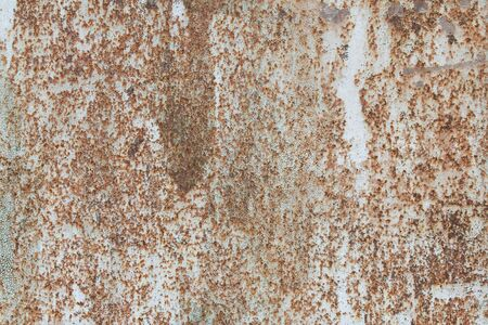 The texture of stainless metal. Cracked paint Stock Photo - 7601480