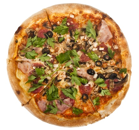 Pizza Pepperoni Stock Photo - 9740551