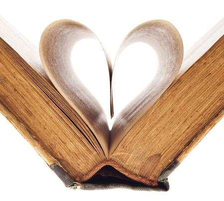 這本書的頁面心臟
