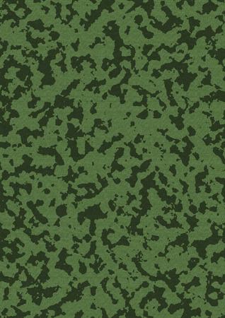 camouflage terne sur toile naturelle