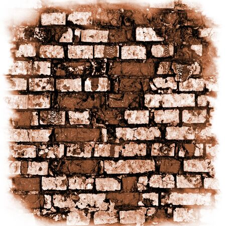 Grunge brick wall  for you design photo