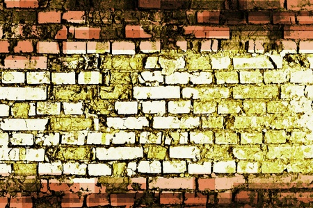 Grunge brick wall  for you design Stock Photo - 12106380
