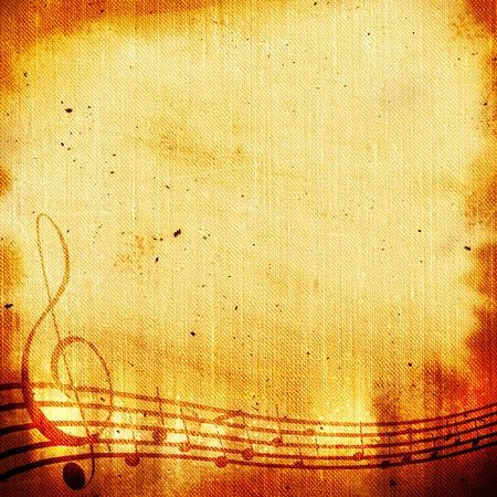 sheet music: music grunge backgrounds for you design
