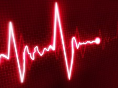amplitude: Abstract heart beats cardiogram for you design  Stock Photo