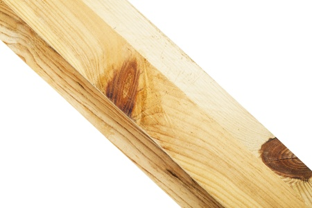 Wood planks on a white background Stock Photo - 12692962