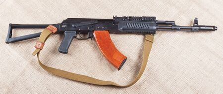 traditional weapon: assault rifle traditional weapon for terrorist guerrilla