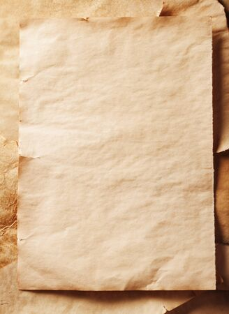 stack of old sheets of paper Stock Photo - 16160610