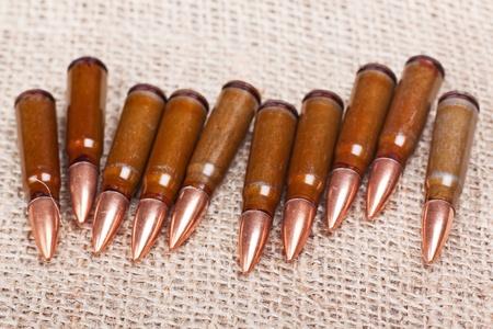 scored: scored seven cartridge for AK-47