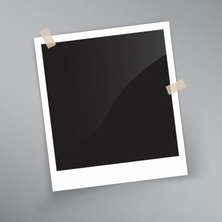 fotoalbum vintage: detaillierte Darstellung eines Retro-Foto-Rahmen. Bild enth�lt Verlaufsgitterobjekten