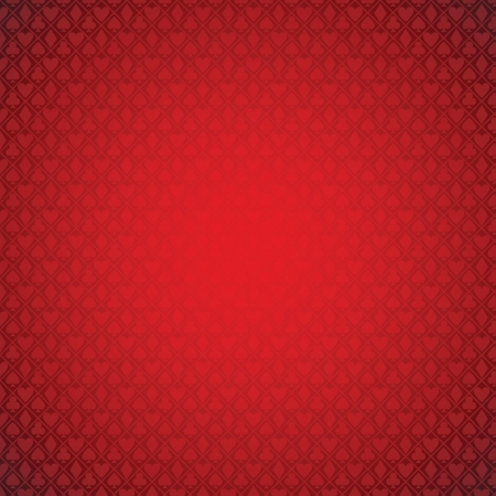 heart suite: vector red poker background.   Illustration