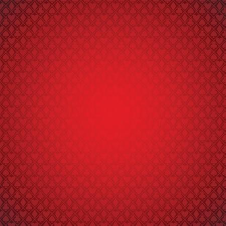 vector red poker background.   Illustration