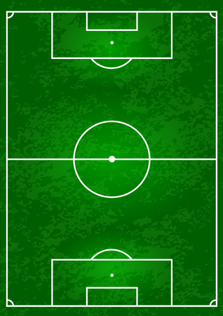 football field vector illustration for you design Vector