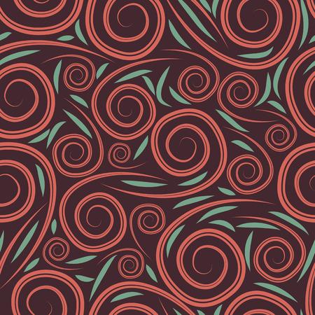 シームレス パターンをベクトルします。無限の抽象的な背景 写真素材 - 26548662