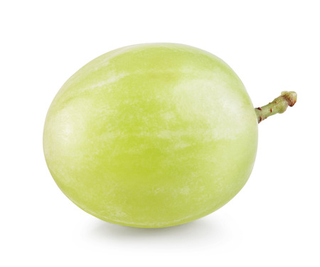 one: Grape isolated on white background.